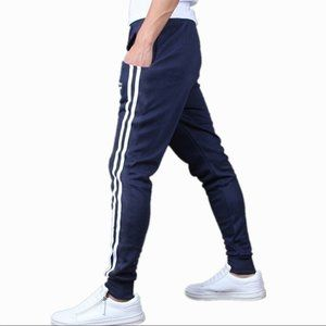 TOP HERE SPORT Slim Fit Tapered Sweatpants - NEW